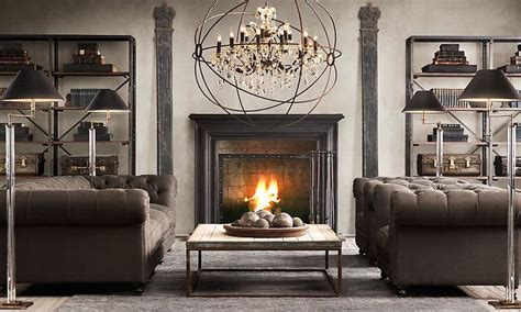 Hmmmm Black Mantle Maybe? Restoration Hardware Bhg Kitchen Makeovers Contemporary Light Fixtures Small Ideas Rustic Beech Cabinets Star Decor Design Pictures Chic