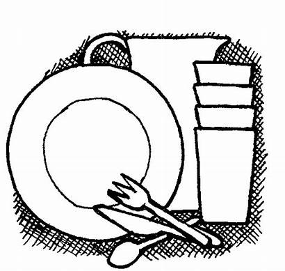 Dishes Clipart Dirty Cliparts Dish Away Put