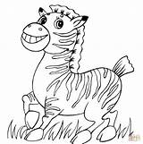 Zebra Coloring Funny Pages Para Colorear Drawing Happy Printable Cebra Dibujos Bebes Dibujo Una Caricatura Getdrawings Games Gratis Animals Categories sketch template