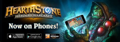 hearthstone for android hearthstone heroes of warcraft now available on android