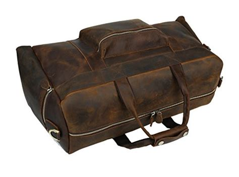 Thick Cowhide Leather by Texbo Travel Duffels S Thick Cowhide Leather Vintage