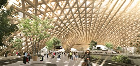 Erik Giudice Architecture Unveil A Proposal For A Wooden