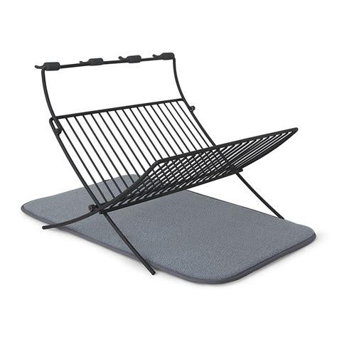 folding dish rack buy umbra xdry folding dish rack amara