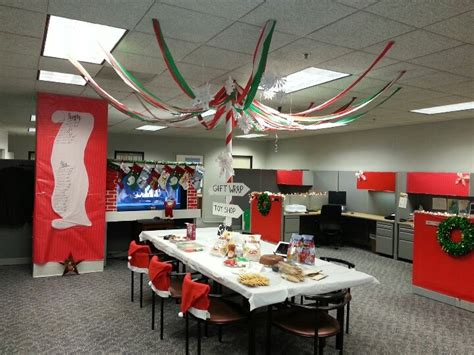 office christmas decor office christmas decorations