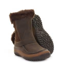 womens merrell ankle boots decora minuet mocha waterproof winter size 5 5 10 5 ebay