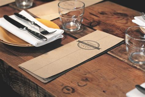 You can now use this square photo frame mockup to showcase your work in a photorealistic look. Restaurant Menu - Free PSD Mockup | Free Mockup