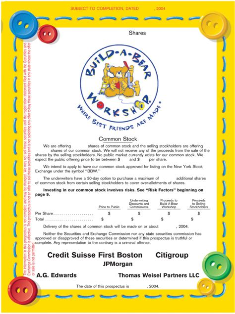 Build A Bear Birth Certificate Template - Costumepartyrun