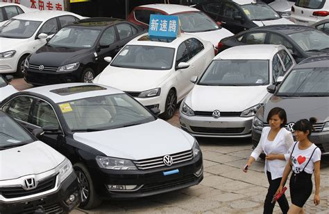 China Extends Lead As World's Largest Car Market By Sales