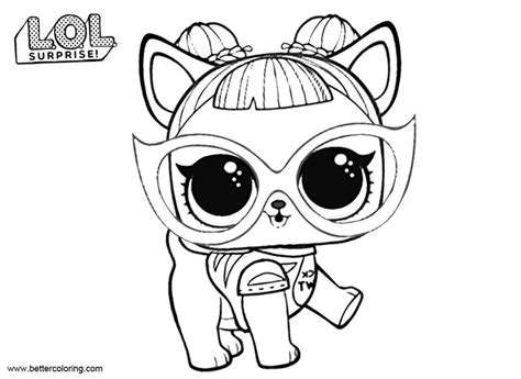 Kleurplaat Lol by Lol Pets Kleurplaat Lol Pets Coloring Pages Baby