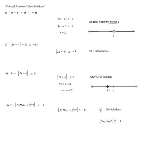 absolute value word problems worksheets worksheets for all
