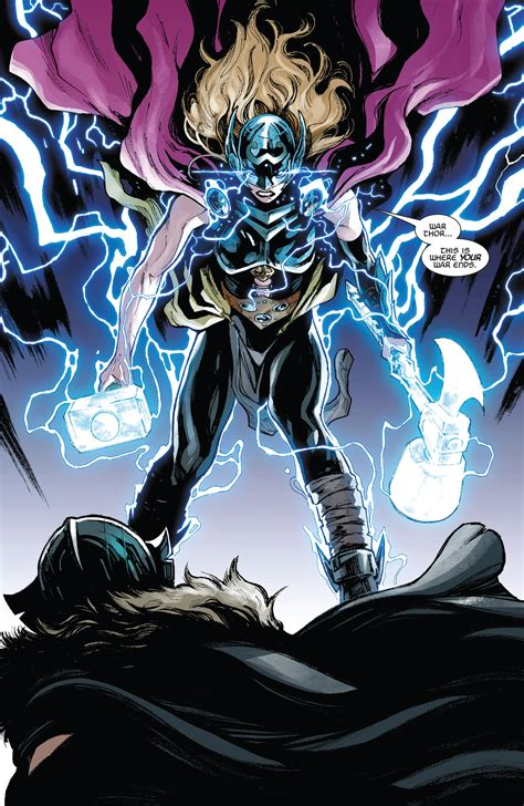 marvel comics legacy spoilers thor 23 has mighty thor vs
