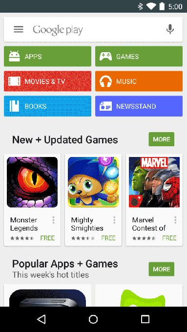 Play Store App For Mobile by Starts Testing Mobile App Ads In The Play