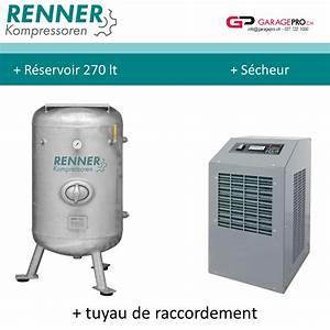 Compresseur A Vis : garagepro compresseur vis renner avec cuve 270 lt et ~ Melissatoandfro.com Idées de Décoration