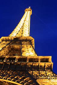 France Eiffel Tower at Night