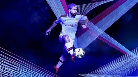 19/20 UCL Manchester City Home Blue Jerseys Shirt ...