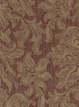 maroon gold victorian style upholstery fabric