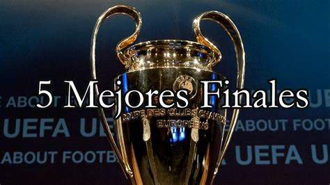 Chelsea were given a champions league final fitness boost on wednesday as france midfielder. 5 MEJORES FINALES DE LA UEFA CHAMPIONS LEAGUE - YouTube