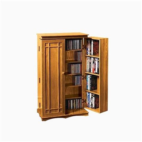media storage cabinet honey oak 40 quot target