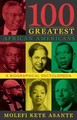 100 Greatest African Americans  Wikipedia
