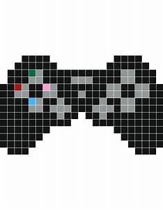 Pixel Art Voiture Facile : manette calvin pinterest pixel art dessin pixel et pixel ~ Maxctalentgroup.com Avis de Voitures