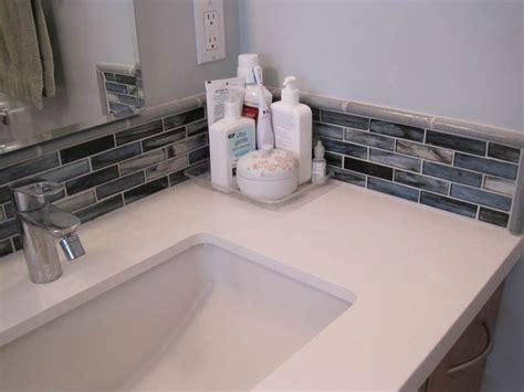bathroom sink backsplash ideas mosaic tiles corner bathroom sink bathroom backsplash