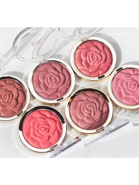 milanis viral rose powder blush palette
