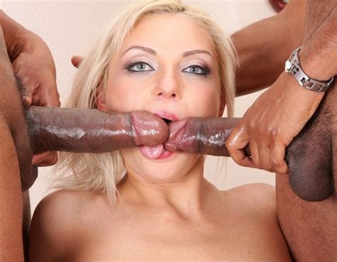 Sexy Blonde Interracial Oral A Blonde Interracial Sex Ir Mmf Blowjob 2in1 Bbc Teen Group Sex