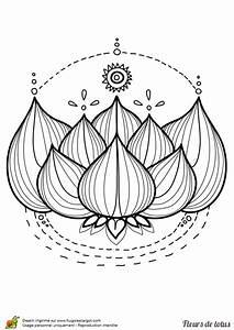 Dessin Fleurs De Lotus : coloriage fleur de lotus sur ~ Dode.kayakingforconservation.com Idées de Décoration