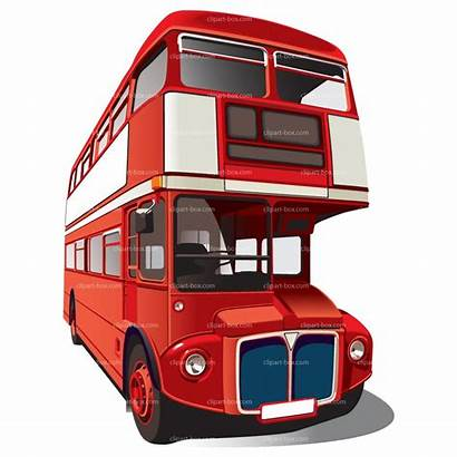 Decker Clipart Bus Double London Vector Royalty