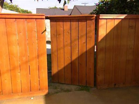 building  wooden gate hgtv
