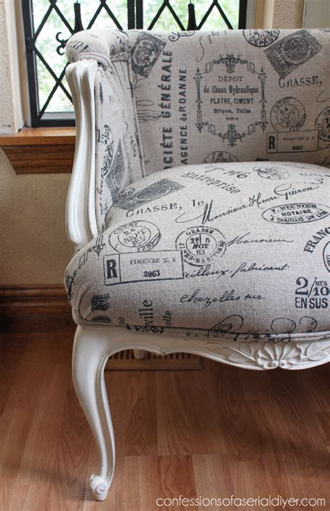 french provincial chair makeover confessions   serial