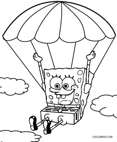 printable spongebob coloring pages for cool2bkids