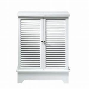 Bouton De Meuble Maison Du Monde : meuble de bar en bois blanc l 80 cm barbade maisons du monde ~ Teatrodelosmanantiales.com Idées de Décoration