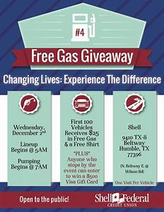 Free gas giveaway & $500 gift card drawing from Shell ...