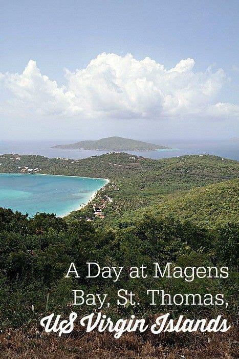 A Day At Magens Bay Beach St Thomas Us Virgin Islands