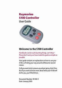 Download Free Pdf For Raymarine S1000 Autopilot System