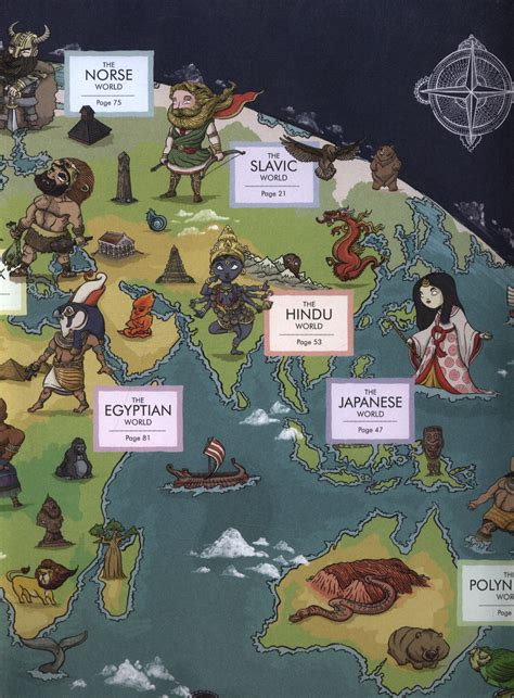 Myth atlas : maps and monsters, heroes and gods from ...