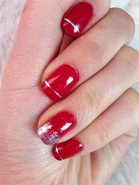 rote nägel design leisten sie sich rote geln 228 gel zu weihnachten
