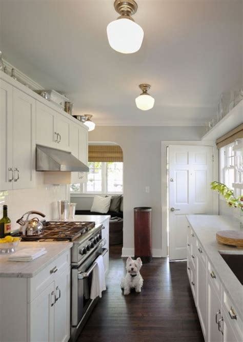galley kitchen lighting 17 best images about galley kitchens other small spaces 1163