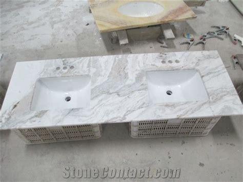 Snow White Marble Vanity Tops, Italy White Marble Bath Top