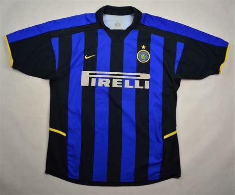 2002-03 INTER MILAN *VIEIRA* SHIRT L Football / Soccer ...