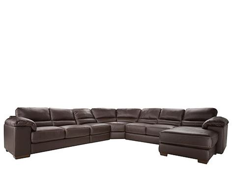 cindy crawford sectional sofa cindy crawford maglie 5 pc leather sectional sofa dark