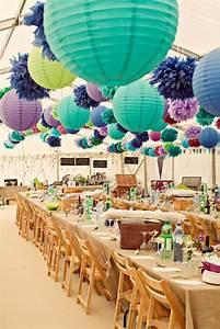 Boule Papier Deco : la boule chinoise est un joli et original moyen de d coration ~ Teatrodelosmanantiales.com Idées de Décoration
