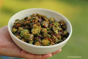 Indian Okra Fry/ Crispy Bhindi Fry Recipe | RedChillies