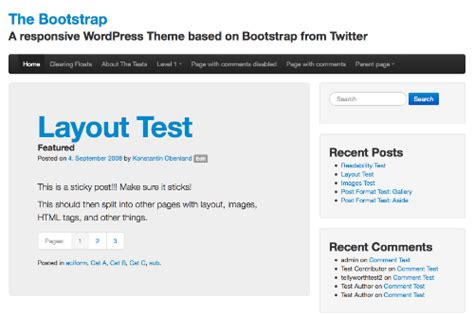 bootstrap konstantin  wordpress