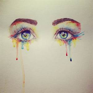Watercolor eyes - by Miranda Watson | Art | Pinterest ...
