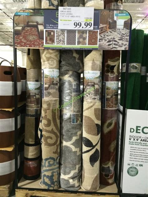 costco area rugs orian rug easy living 7 10 x 12 area rug costcochaser