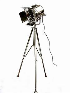 Stunning movie studio spotlight floor lamp floor lamp for Winston studio spotlight floor lamp on tripod