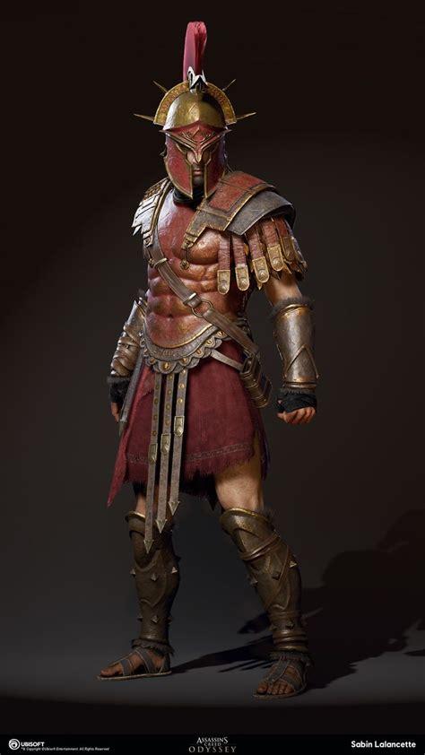 Spartan War by Artstation Alexios Kassandra Spartan War