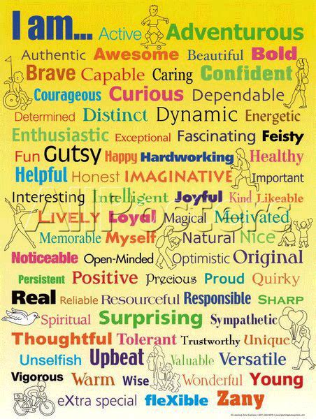 positive adjectives for character traits quotes quotesgram